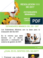Estandares Minimos V1 (1)