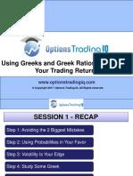 Greeks and Greek Ratios
