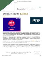 Qué Es Estado - Definición, Significado y Concepto 2018