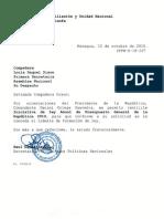 Iniciativa de Ley Anual de Presupuesto General de La República 2019