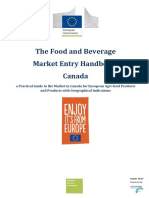 Kanada - The Food and Beverage Market Entry Handbook