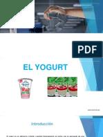 TRABAJO de Yogurt Senati