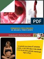 PROLONGADO EMBARAZO