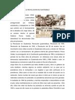 La Revolucion de Guatemala