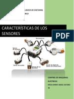 Caracteristicas de Sensores