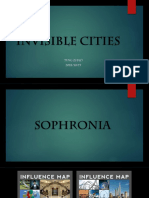 INVISIBLE CITIES -  PPT