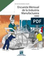 Encuesta Nacional de Industrias Manufactureras