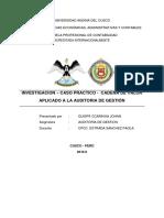 Investigacion - La Cadena de Valor Aplicado a La Auditoria de Gestión