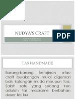 NUDYA'S CRAFT.pptx