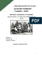 Monografia Caida de Los Incas