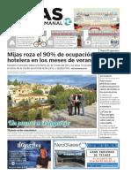 Mijas Semanal nº810 Del 19  al 25 de octubre de 2018