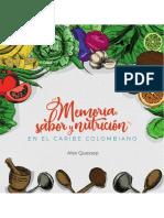 Memoria, Sabor y nutrición en el caribe Colombiano