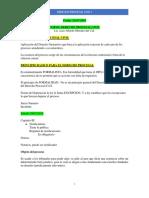 Clases 1p Derecho Procesal Civil i