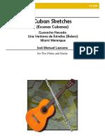 Ensamble Guitarra Flauta - Lezcano Cuban Sketches - Copia