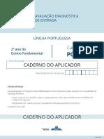 Caderno Aplicador Portugues