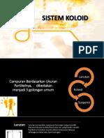 Sistem Koloid
