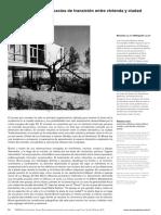 Antonio Bonet. Espacios de transicion entre vivienda y ciudad. Juan Fernando Rodas