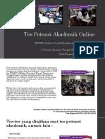 Tes Potensi Akademik Online / Fast Respon / 0822-3651-2343
