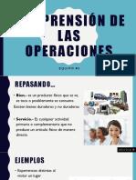 Comprensión de Las Operaciones
