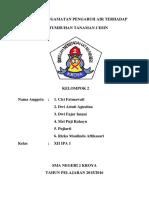 Laporan Plus Grafik Bio 11 Agustus 2015