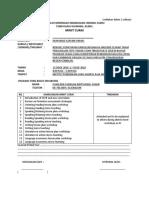 Minit Curai CEFR Form 3