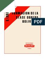 Guillermo lora_1980 Formacion Clase Obrera