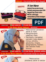 K-Ion Nano Nissa Sabyan Di Jawa Barat WA 08114494181