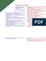 Evaluación y Control de Estudios