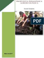 Propuesta Pedagógica Agroecológica 09.06.2017-AJUSTADA a JULIO 2017