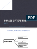 Phases of Teaching