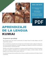 Aprendizaje de La Lengua Kumiai