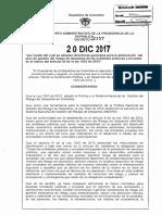 Decreto 2157 Del 20 de Diciembre de 2017
