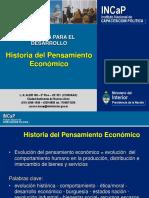 Historia de La Economía. Síntesis.