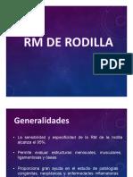 Rmn de Rodilla