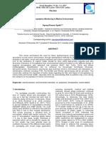 Microplastics Monitoring in Marine Environment Indonesia