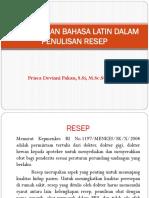 bhs-latin + post test