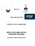 Us Special Forces Antenna Manual