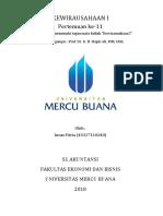12 Kewirausahaan, Intan Fitria, Hapzi Ali, Manajemen Pemasaran, Universitas Mercu Buana, 2018