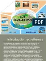 Ecosistemas Power Point