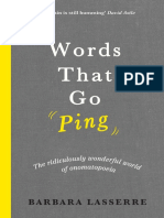 Words That Go Ping Chapter Sampler