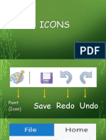 Icons and Shortcuts
