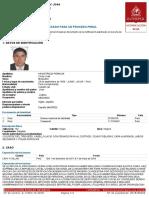 Interpol activó alerta roja para capturar al exjuez prófugo César Hinostroza