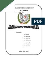 2. Planificacion Anual de Desarrollo Curricular