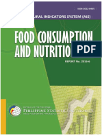 Food Consumption and Nutrition 2016