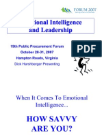 Wed Emotional Intelligence