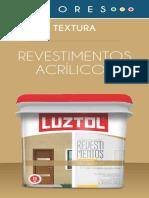 Catálogo de Cores Mobile Revestimento Textura