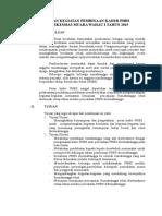 Laporan Pelatihan Kader Posyandu 2014