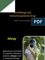 AntiAllergy and Immunosupresive Drug