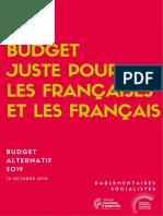 Budget Alternatif Final