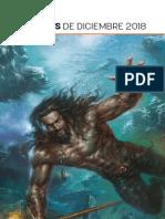Novedades de ECC Ediciones para Diciembre de 2018